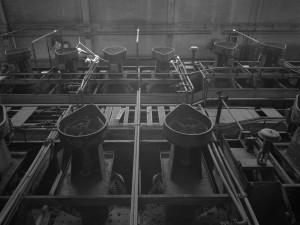 Interno della fabbrica
