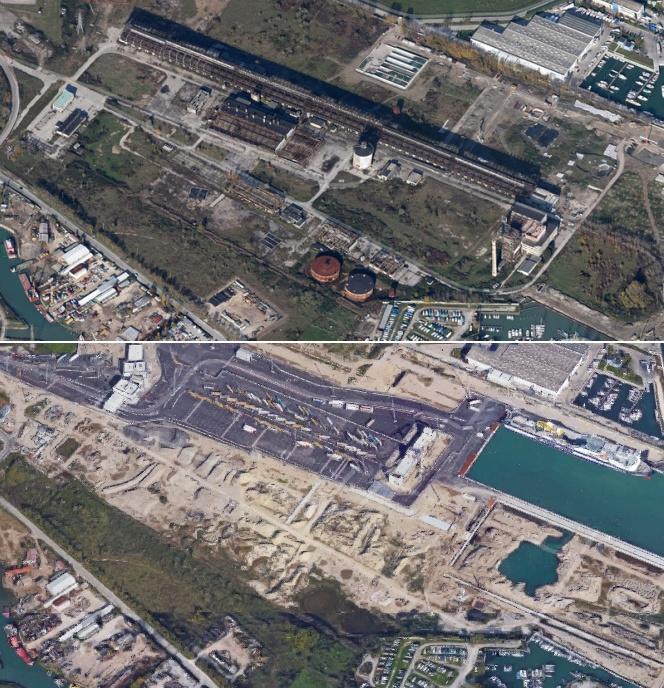 L'area SAVA prima e dopo la riqualificazione del 2013