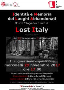 La Mostra di LostItaly a Firenze