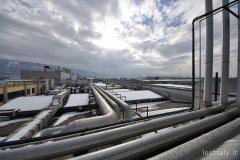 Il tetto dei capannoni