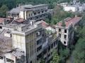 Vita-Mayer di Cairate: panoramica dal tetto edificio Tomlinson