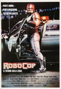 "Poster for the movie ""RoboCop - Il futuro della legge"""