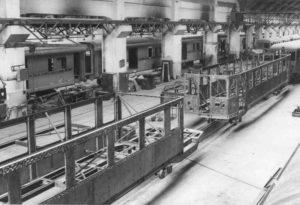 Produzione vagoni ferroviari