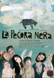 "Poster for the movie ""La pecora nera"""